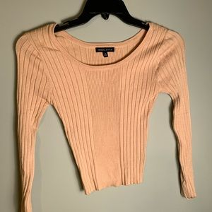 Kendal and Kylie scoop sweater